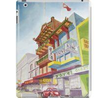 Chinatown Street Scene iPad Case/Skin