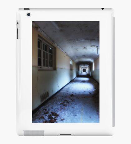 Corridor in decay iPad Case/Skin