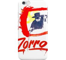 Zorro Zorro iPhone Case/Skin