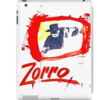 Zorro Zorro iPad Case/Skin