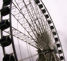 Ferris Wheel- Paris by paintedwords