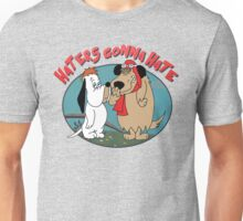 Droopy Dog and Muttley - Haters Gonna Hate Unisex T-Shirt