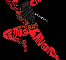 Deadpool Typography by Shadowmark