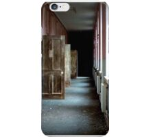 Darkness beyond the doors of sanity iPhone Case/Skin