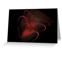 Virtuous Veins Greeting Card