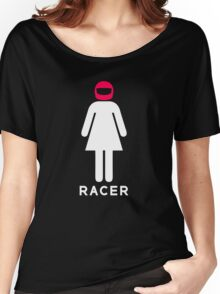 Woman Racer (4) Women's Relaxed Fit T-Shirt