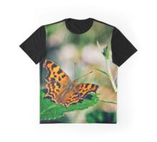 Comma Butterfly Graphic T-Shirt