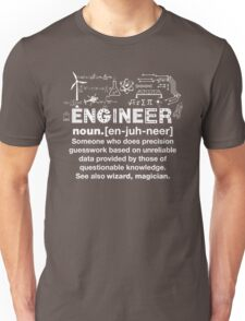 Engineer Humor Definition Unisex T-Shirt