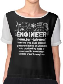 Engineer Humor Definition Chiffon Top