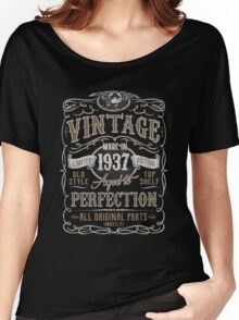 Made In 1937 Birthday Gift Idea Women's Relaxed Fit T-Shirt