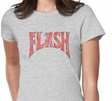 Flash Gordon - Distressed Logo No symbol Womens Fitted T-Shirt