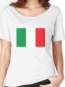 Italy flag Women's Relaxed Fit T-Shirt
