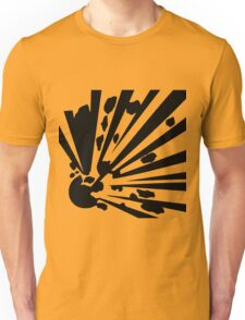 Explosion sign items are sure to get you noticed! Unisex T-Shirt