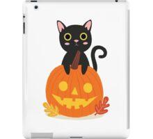 Halloween Black Cat iPad Case/Skin