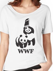 funny wwf Women's Relaxed Fit T-Shirt