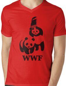 funny wwf Mens V-Neck T-Shirt
