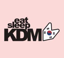 Eat Sleep KDM (2) Kids Clothes