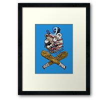 Chicago Cubs Baseball Framed Print