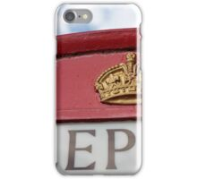 london red phone booth iPhone Case/Skin