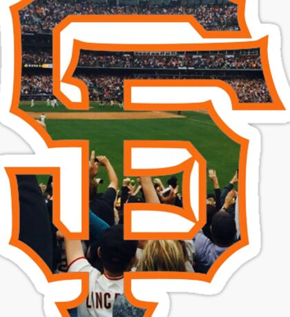 SF Giants Logo Sticker