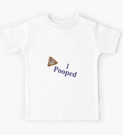I Pooped Kids Tee