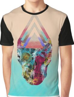 Experimental Skull Series Graphic T-Shirt