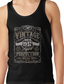 Made In 1957 Birthday Gift Idea Tank Top