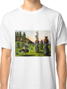 The Battle Over Easter Island Classic T-Shirt