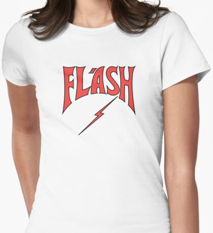Flash Gordon - Razor Edge Logo Womens Fitted T-Shirt
