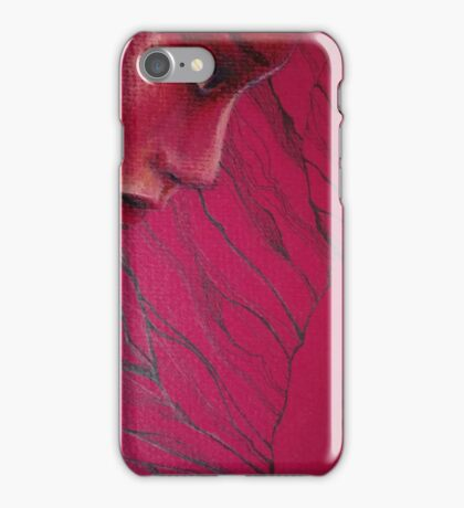 Red Woman iPhone Case/Skin