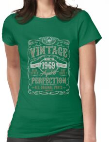 Made In 1969 Birthday Gift Idea Womens Fitted T-Shirt