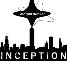 Minimalist Inception Poster - With Totem by PatriotShadow