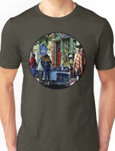 New Hope PA - Shopping Along Main Street Unisex T-Shirt