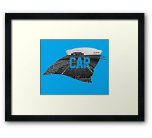 B of A Stadium, Carolina Framed Print