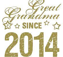 2014 Great Grandma (Grunge) by thepixelgarden