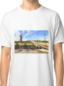 West Ham Olympic Stadium And The Arcelormittal Orbit Art Classic T-Shirt
