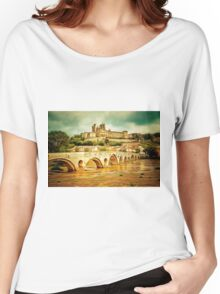 Beziers, Languedoc in southern France founded 575BCE Women's Relaxed Fit T-Shirt
