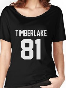 Justin Timberlake Women's Relaxed Fit T-Shirt