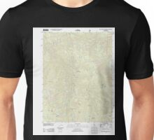 USGS TOPO Map California CA Blue Nose Mountain 20120327 TM geo Unisex T-Shirt