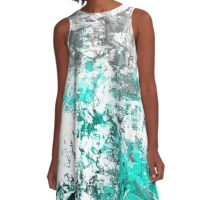 abstract  w/t A-Line Dress