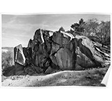 Black Rocks Derbyshire Poster