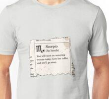 Scorpio Horoscope Unisex T-Shirt