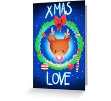 XMAS LOVE Greeting Card