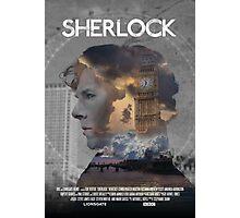 BBC Sherlock Fan-made Poster Photographic Print