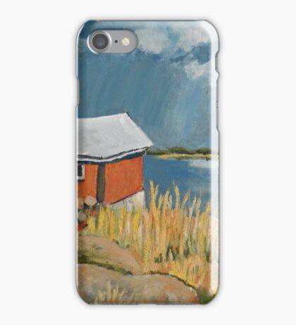 Red Shack iPhone Case/Skin