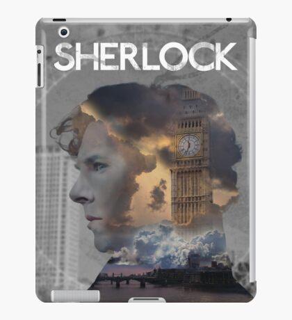 BBC Sherlock Fan-made Poster iPad Case/Skin