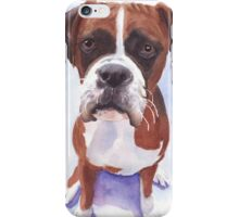 Boxer painting iPhone Case/Skin