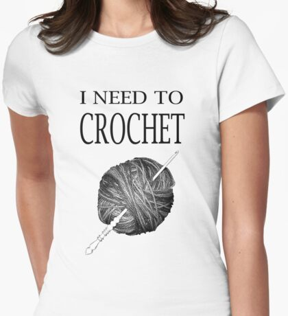 I need to Crochet Womens Fitted T-Shirt