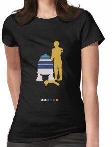 Androids Womens Fitted T-Shirt