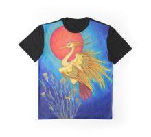 Ra as a Bennu Bird Graphic T-Shirt